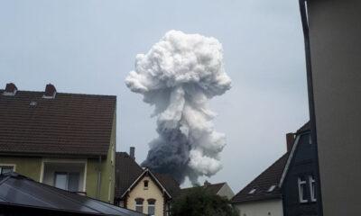 Ledakan Pabrik Kimia Jerman Tewaskan Dua Orang