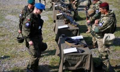 Ukraina Adakan Latihan Perang dengan AS, Polandia dan Lithuania