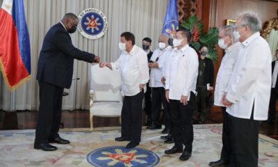 Presiden Duterte Pulihkan Perjanjian Militer dengan Amerika