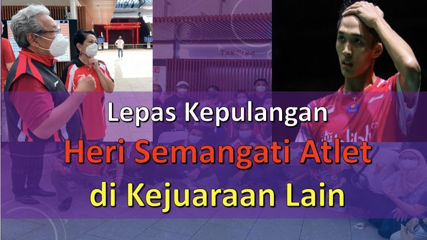 Lepas Kepulangan, Heri Akhmadi Semangati Atlet di Kejuaraan Lain