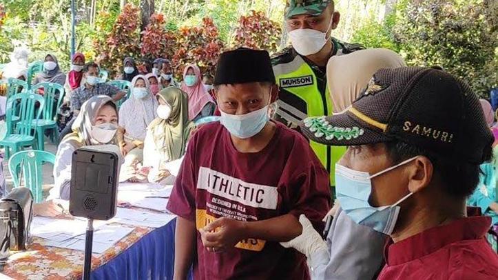 Ratusan Warga Difabel di Ponorogo Jalani Vaksinasi Covid-19 Hari Ini
