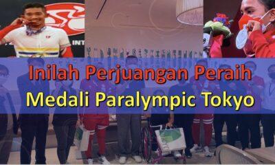 Inilah Perjuangan Peraih Mendali Paralympic Tokyo
