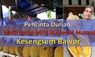Pecinta Durian, Akhmad Muzani Kesengsem Bawor