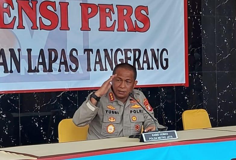 Polisi Telah Periksa 25 Saksi Terkait Kebakaran Lapas Tangerang