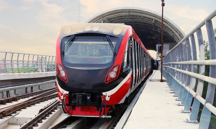Moda Transportasi LRT Jabotabek Akan Beroperasi pada Akhir Tahun 2022