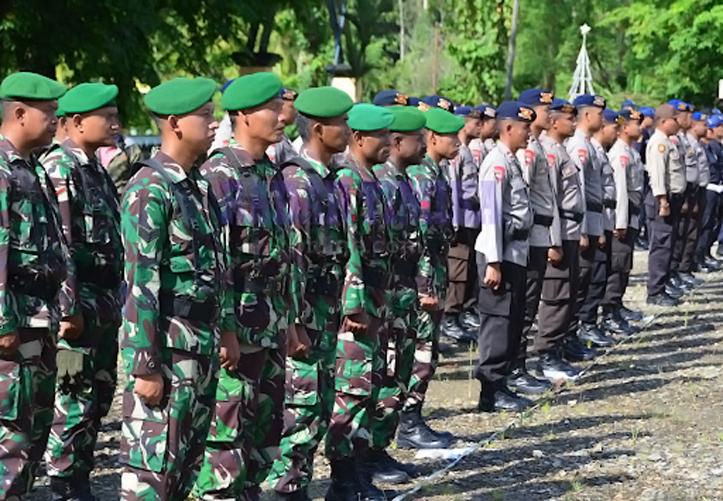 TNI-Polri Kerahkan 9.986 Personel Amankan PON Papua