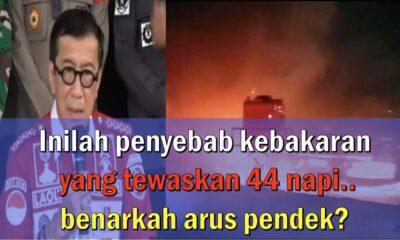 Penyebab Kebakaran yang Tewaskan 44 Napi, Benarkah Arus Pendek?