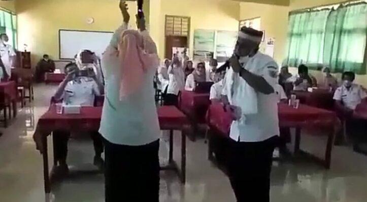 Dangdutan Kadis Dikbud Bondowoso Langgar Prokes