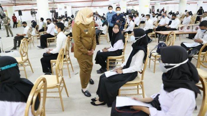 Hari Ini Puluhan Ribu Peserta Ikuti Seleksi SKD CPNS di Graha Unesa Surabaya