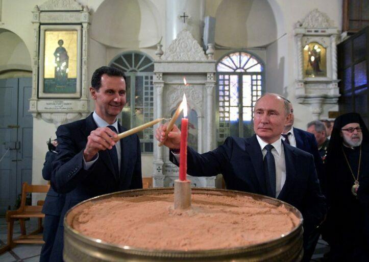 Presiden Bashar Kunjungi Putin, Bahas Situasi Konflik di Suriah