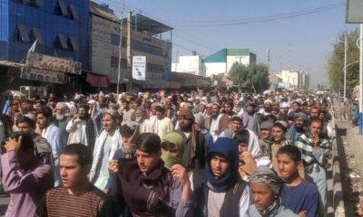 Diusir Taliban, Ribuan Warga Kandahar Turun ke Jalan