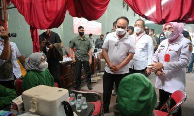 Ketum Projo Buka Gerakan Vaksin Gratis di Jawa Tengah