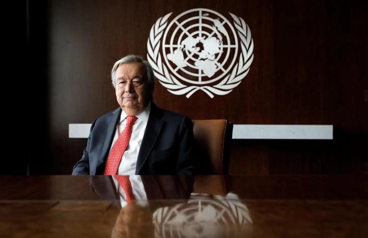 Antonio Guterres: PBB Bisa Selesaikan Masalah di Afghanistan Sebagai Khayalan