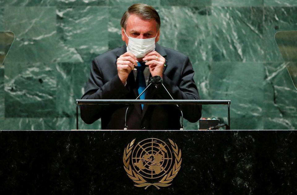 Pulang dari New York, Presiden Brasil Jalankan Isolasi Mandiri