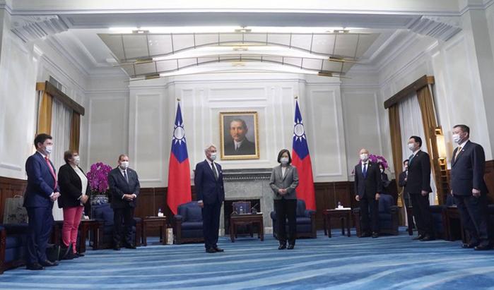 Pertemuan dengan Prancis dan Australia, Taiwan Pastikan Perdamaian di negaranya