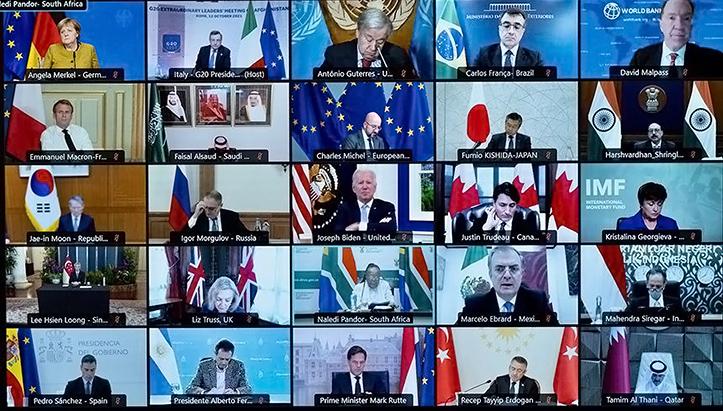 G20 Sepakat Tangani Krisis Kemanusiaan di Afghanistan
