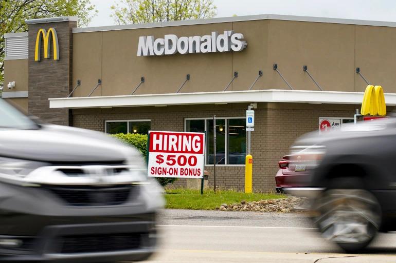 Tingkat Pengunduran Diri Buruh AS Pecahkan Rekor