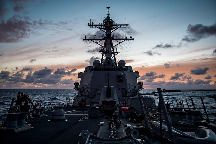 Cina Geram Kapal Laut AS dan Kanada di Selat Taiwan