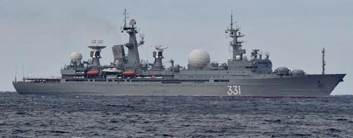 Armada Kapal Laut Cina dan Rusia Melintasi Selat Tsugaru di Jepang