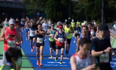 Peserta Marathon Hong Kong Dilarang Menampilkan Slogan Politik