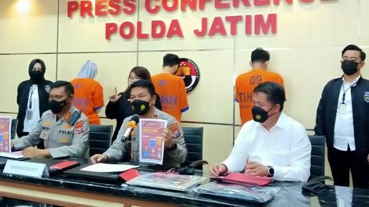 Ancam Debitur, Polda Jatim Amankan Tiga Pegawai Pinjol Ilegal