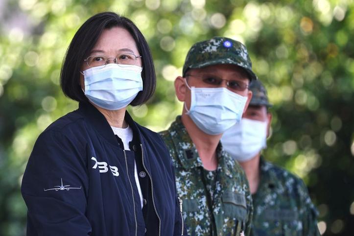 Presiden Tsai Konfirmasi Ada Pasukan AS di Taiwan